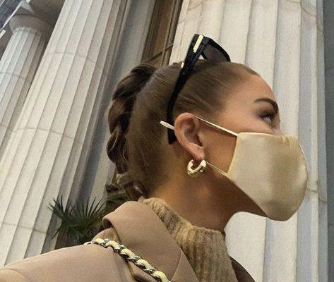 7 peinados perfectos para llevar con mascarillas y lucir divina