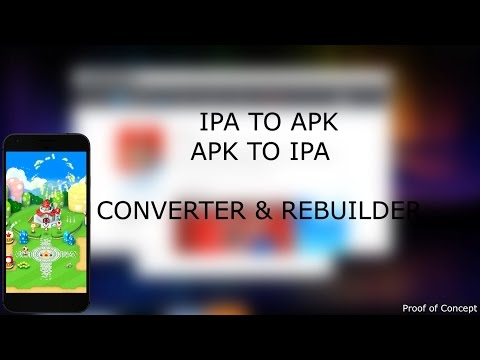 Convert IPA — APK (iOS APPS ON ANDROID AND VICE VERSA)