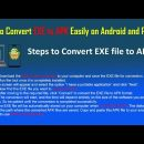 How to Convert EXE to APK Easily on Android and PC