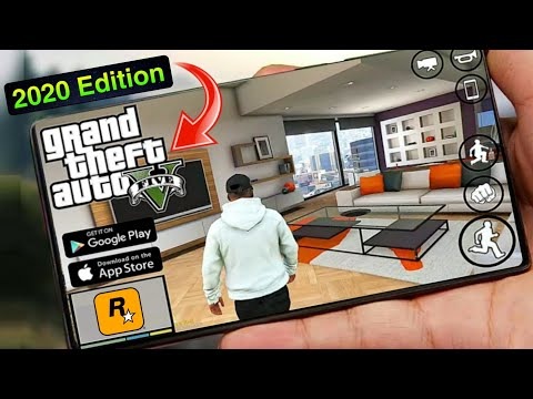 How To Download GTA 5 on Android Mobile || Install GTA V Apk+Data 2021 | 100% Assurance Premium Game
