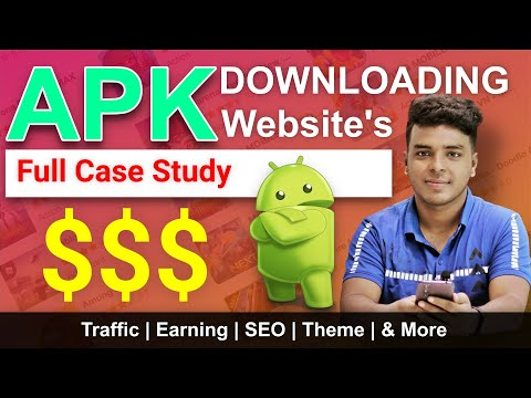 🔥 APK Downloading Sites Case Study | Traffic, Earnings, SEO & More