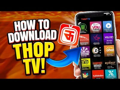 ThopTV Download – How to Download ThopTV on iOS/Android APK