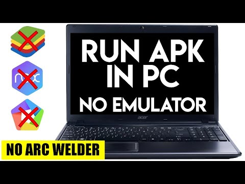 How to Run Android Apk in PC or Laptop Without Emulator and ARC Welder   New Trick   TECH Aditya