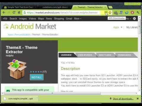 APK Downloader Demo